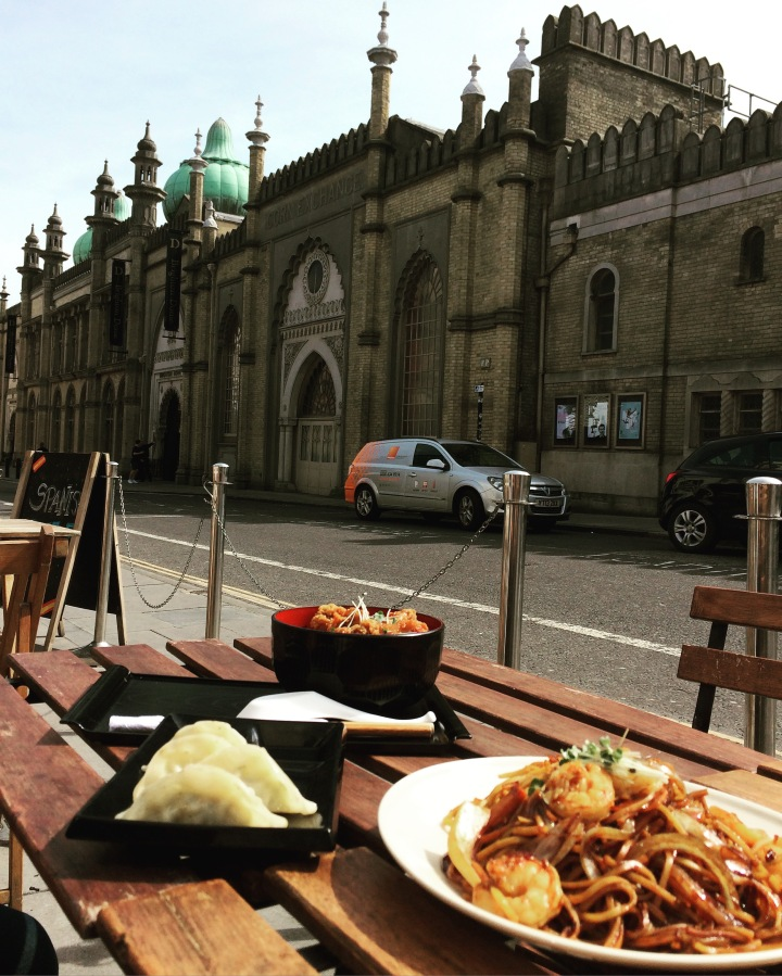 Lunch spots in the centre of Brighton